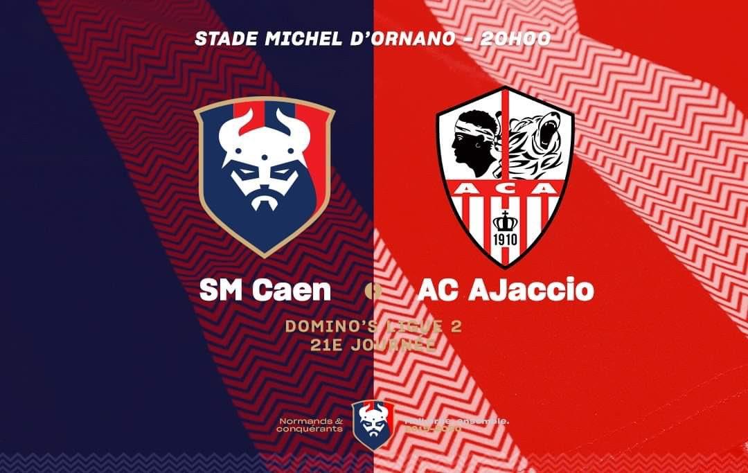 [21e journée de L2] SM Caen 0-1 AC Ajaccio EPCRTYUXkAARIgY