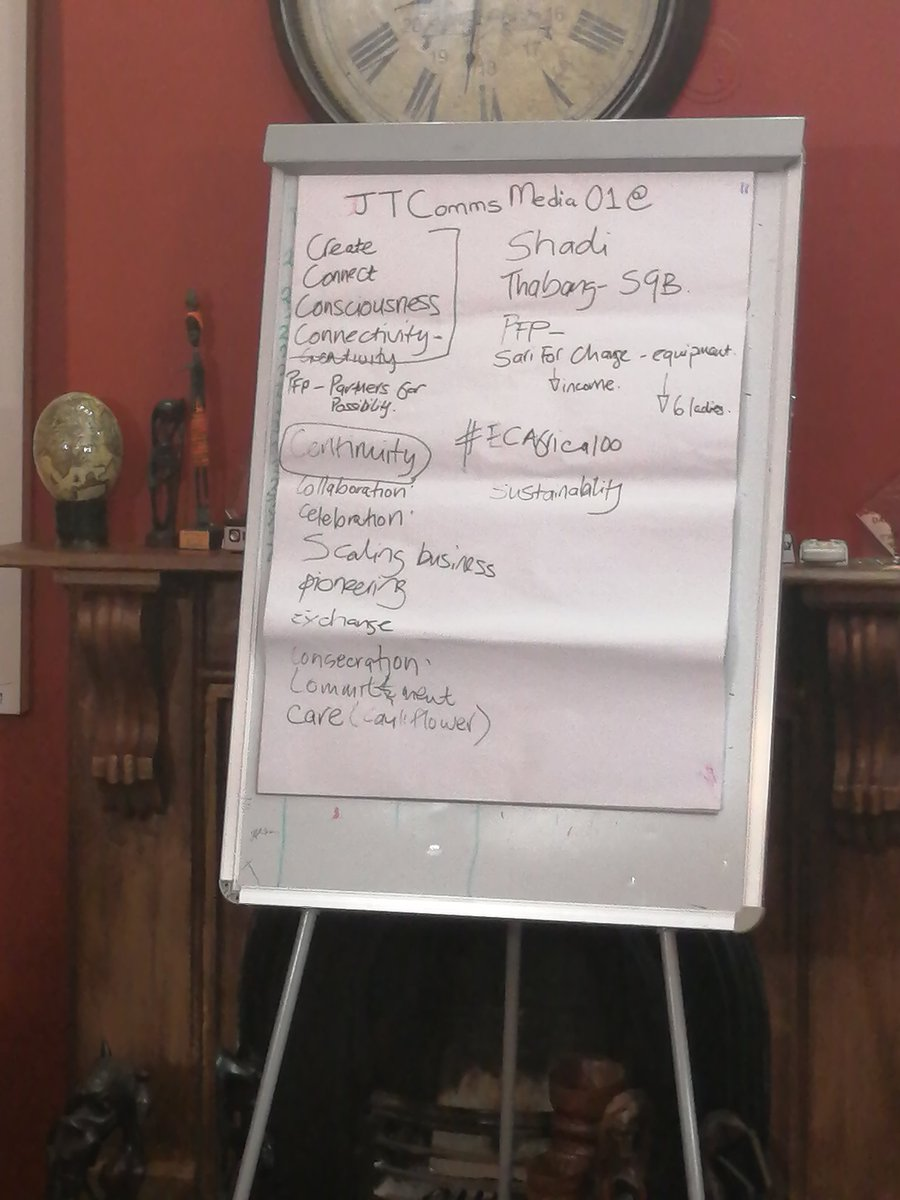 #Entrepreneurs need to find out what skills they can trade as currency because sometimes cash might be tight. #ECAfrica #tableofideas<br>http://pic.twitter.com/kFNaviPvIo