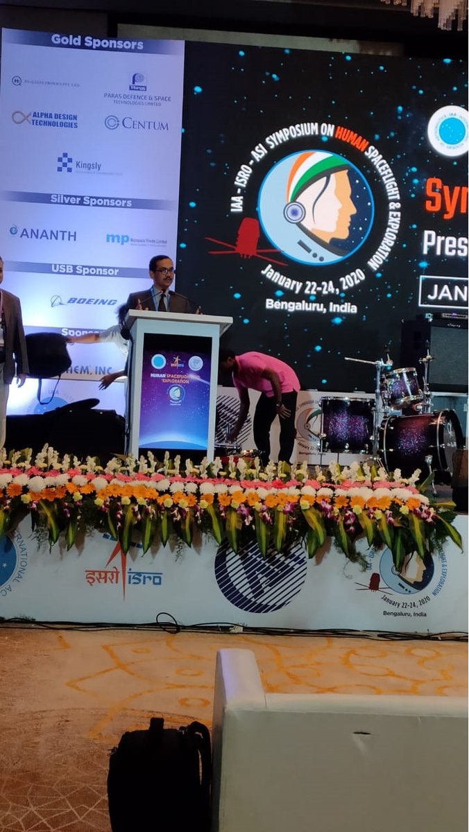 Centum participating in IAA-ISRO-ASI Symposium on Human Spaceflight and Exploration which is held at Hotel Conrad, Bengaluru from 22nd to 24th January. <br>http://pic.twitter.com/a5rlpJSO8E