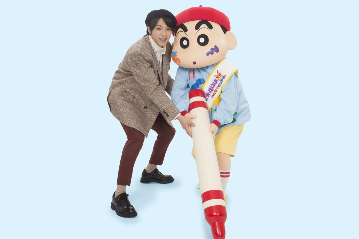 山田裕貴、映画『クレヨンしんちゃん』で声優初挑戦🎉「ドキがムネムネ~です❗️」💬幼少期は「しんちゃんの真似をしておシリを出して怒られていました」😉#山田裕貴 #クレしん #ラクガキングダム @00_yuki_Y @crayon_official
