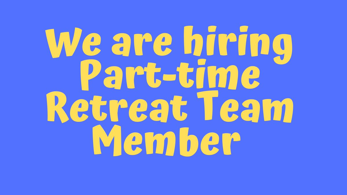 test Twitter Media - The Retreat Team member will assist in delivering the Emmaus Centre's School Retreat Programme to primary and secondary school students. This is a casual, Part-Time position. More details: https://t.co/BD5qnzhRCN #jobfairy https://t.co/j79YLdD71V