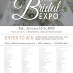 Image for the Tweet beginning: The QC Bridal Expo is