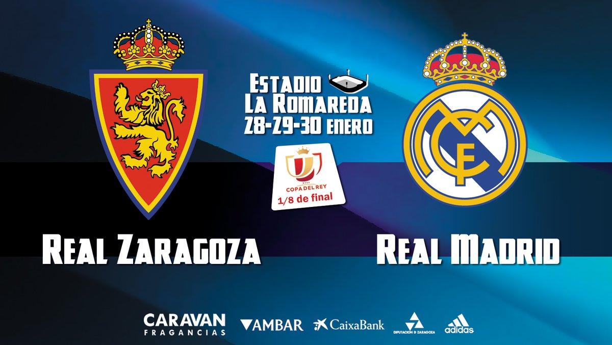Xem lại Real Zaragoza vs Real Madrid, Cúp Nhà Vua – 30/01/2020