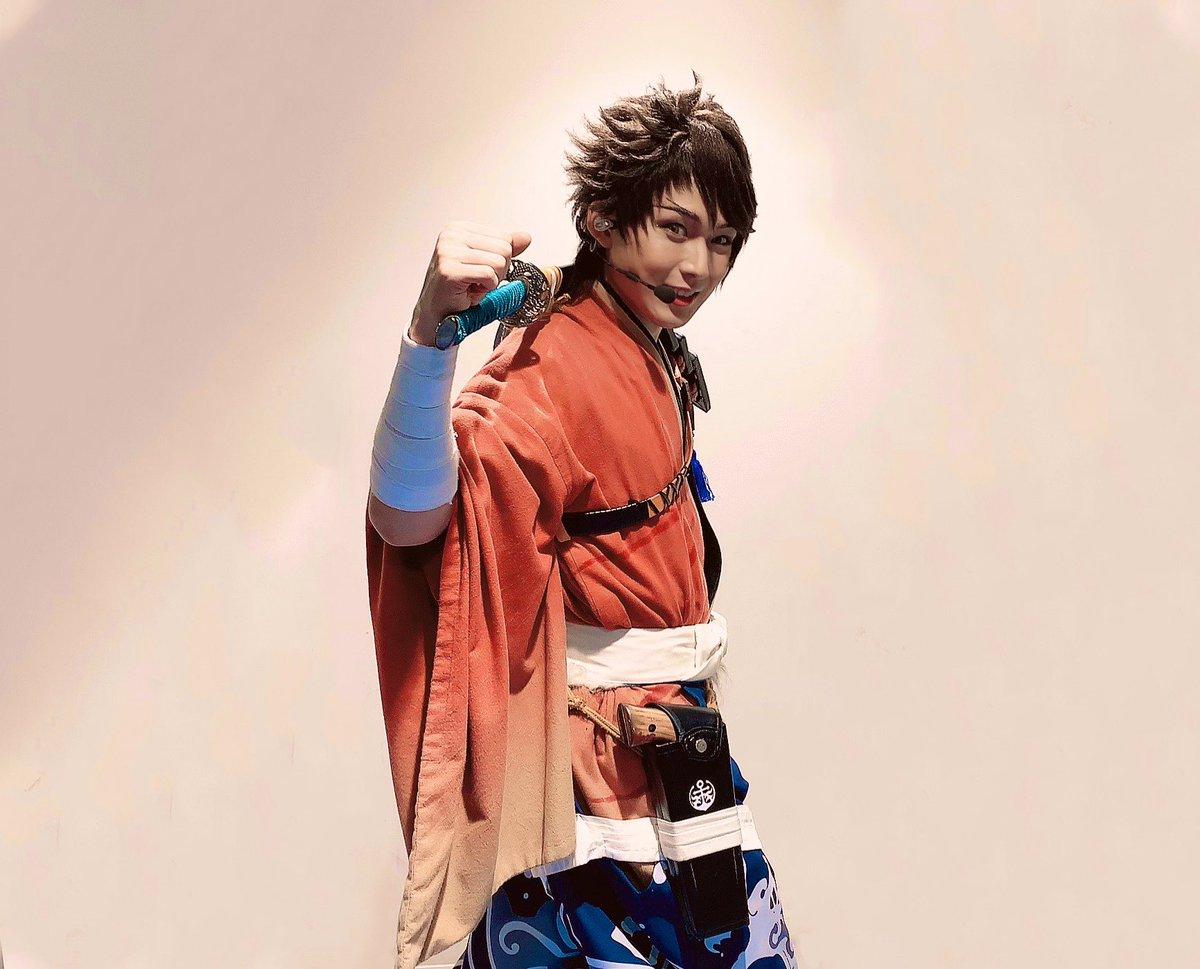 改めてミュージカル『刀剣乱舞』 歌合 乱舞狂乱 2019本当にありがとうございました!!ブログ書いています!20時までに頑張って更新します!また次の出陣まで。#刀ミュ