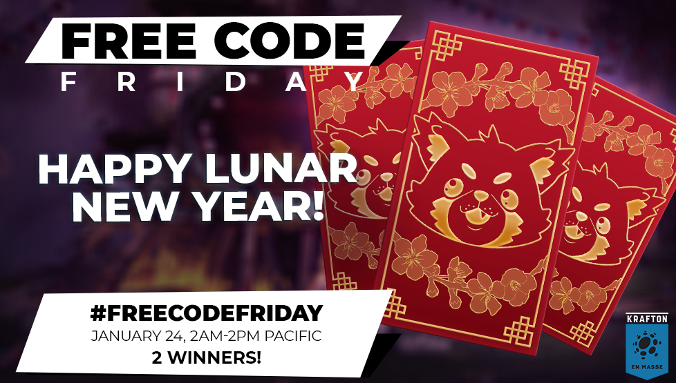 Happy Lunar New Year! We'll be giving our winners a Red Envelope full of EMP for this #FreeCodeFriday!  1) Follow @En_Masse_Ent 2) RT this Tweet 3) Write or share your favorite riddle!  🧧 Comment within 2 AM - 2 PM PST, Jan 24 🧧 We'll pick & DM 2 random winners! https://t.co/oIdhgo9nFv