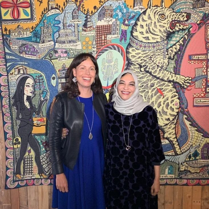 Yesterday, Dr. Hayat, Senior Advisor to the President of @isdb_group attended a @Googleorg breakfast to discuss inequality in global technology & digital access. The event was hosted by Google.org VP @Jacqfuller & @webfoundation CEO @adrianlovett 💻