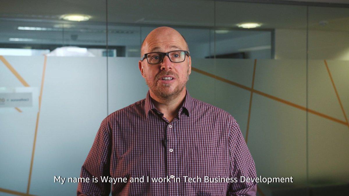 Image for the Tweet beginning: Wayne works in Tech Business