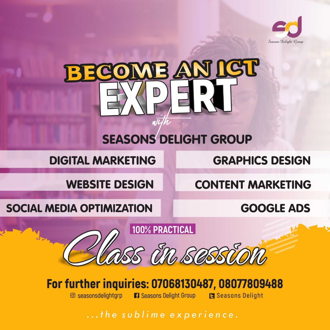 Equip yourself today with a skill that would push your career or business forward.  Join our classes in Digital Marketing, Content Marketing, Website Design or Graphics Design today.  #digitalmarketing#contentmarketing#graphicsdesign#websitedesign#trainings <br>http://pic.twitter.com/vtKFHrl1sV