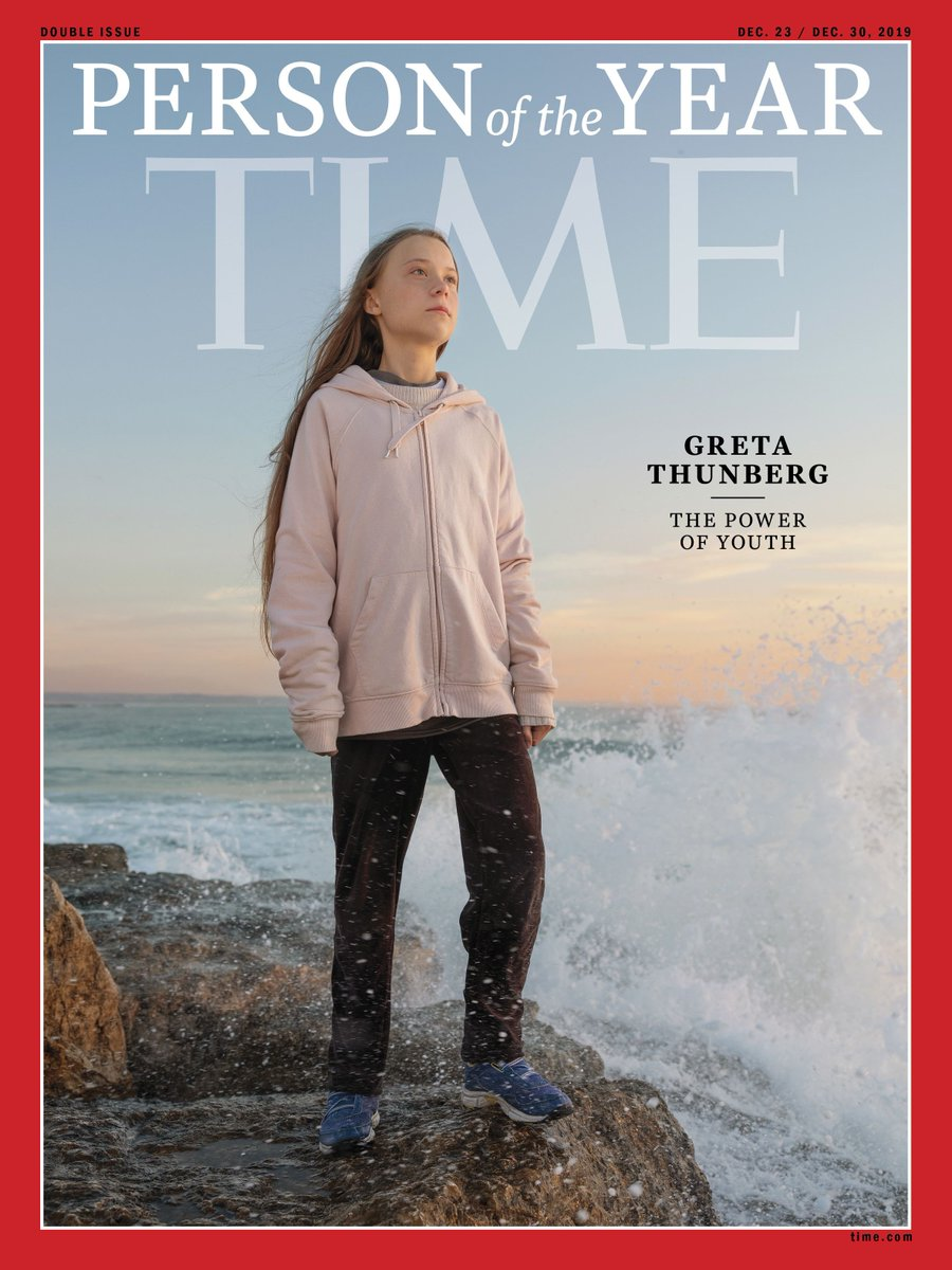 .@GretaThunberg: @TIMEs 2019 Person of the Year wef.ch/2kBbkHl #TIMEPOY #wef20