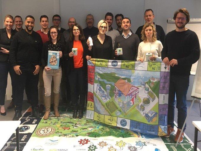 Une nouvelle équipe s'est formée chez @XylemFrance :  les Water Ambassadeurs ! La @waterfamily_ nous a donné tous les outils pour intervenir dans les ...