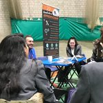 Image for the Tweet beginning: Year 9 Careers speed dating.