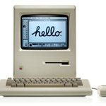 Image for the Tweet beginning: At launch, the #Macintosh was