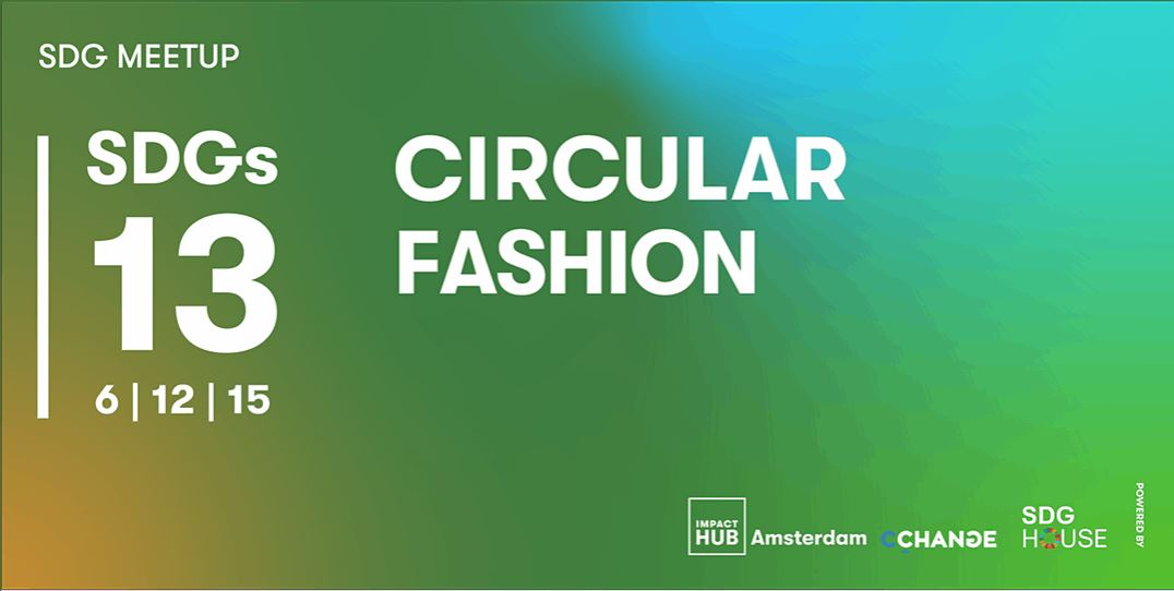 SDG MEET-UP #13 | CIRCULAR FASHION | January 29 | Let's dive into the impact and solutions of the (circular) fashion industry w/ Marlot Kiveron, Sustainability Manager @AceAndTate & Tate and Koen Meerkerk, Founder #Fruitleather | Sign up now > https://t.co/6KHGdYoHI7 https://t.co/VIAGzlsCel