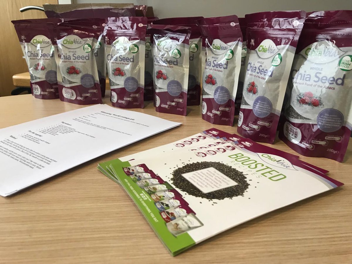 Shoutout to @chiabiaseed who are fuelling our Operation Transformation participants! 💪We can't wait to see how they use their chia seeds 🤩  #GroupLife #LifeatTBG #OperationTransformation https://t.co/HJkweUrQL2