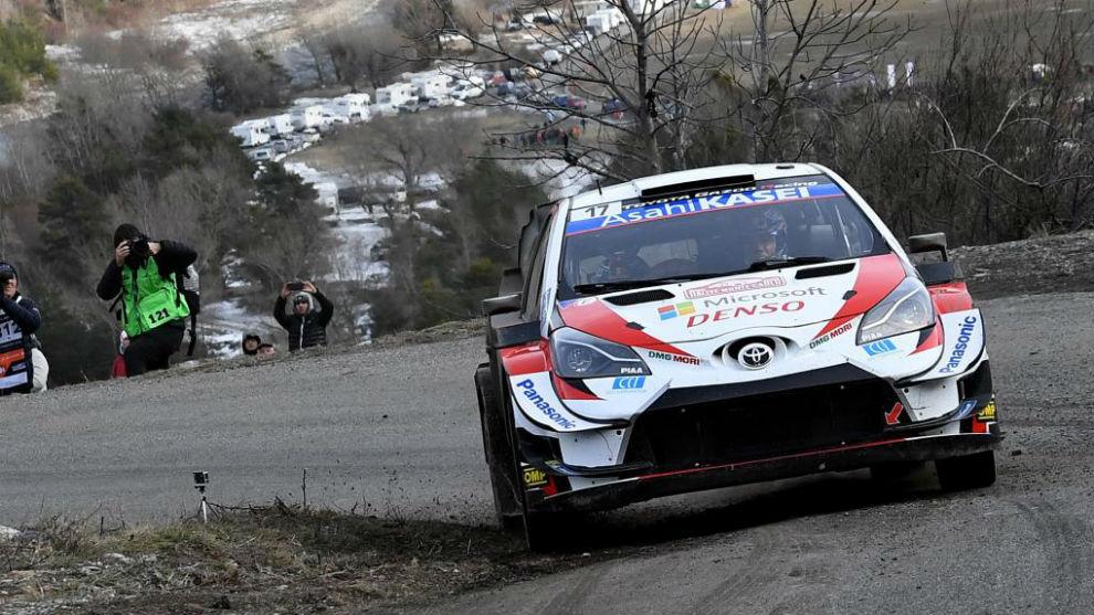 .@SebOgier, en cabeza en una lucha a tres #WRC #RallyeMonteCarlo marca.com/motor/rallies/…
