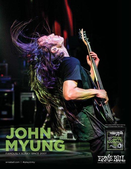 Happy Birthday (January 24th) to John Myung!!                1/24