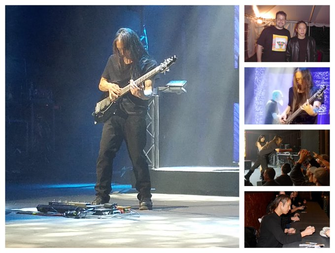 Happy bday to bass machine, and client in my prior life, John Myung.