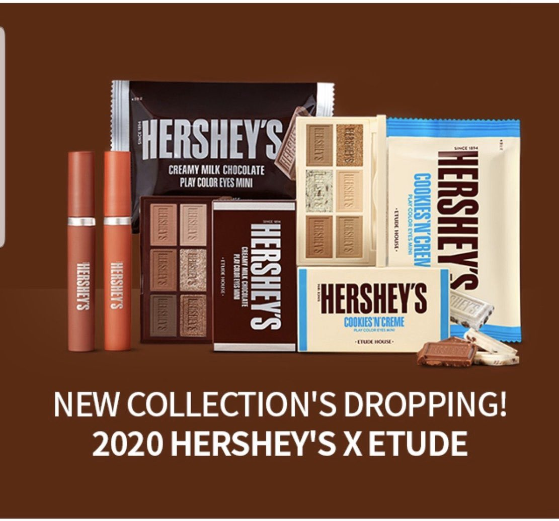 Do we need a review of the new Hershey's chocolate makeup??? 🍫