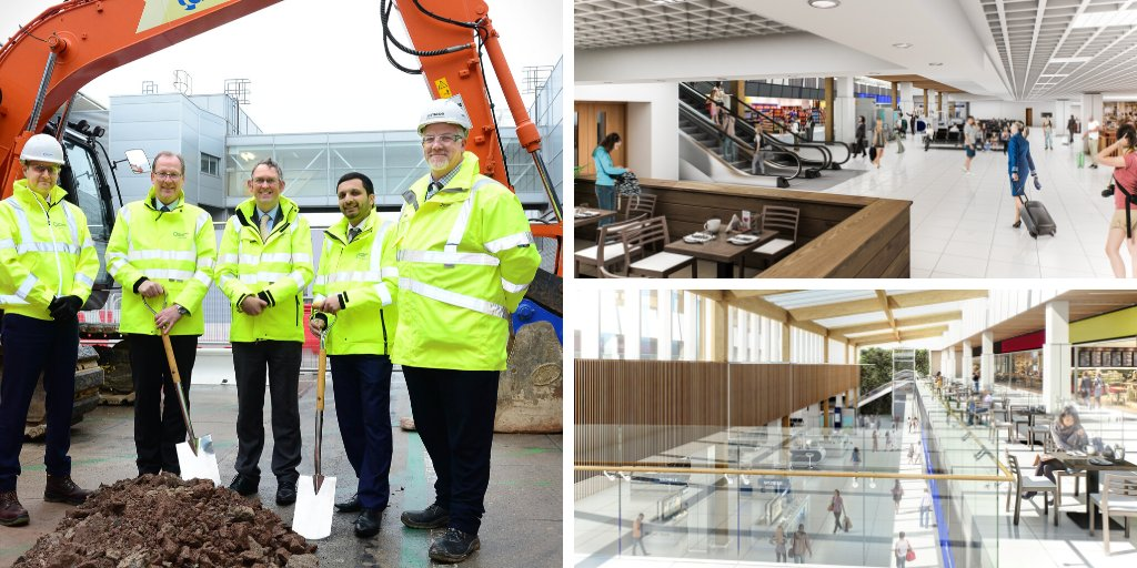 Atkins On Twitter Ground Has Officially Been Broken Marking The Beginning Of Construction On Birminghamairport S 9000m2 Departure Lounge Extension Learn More About The Role That We In Collaboration With Fgouldconnect Will Be