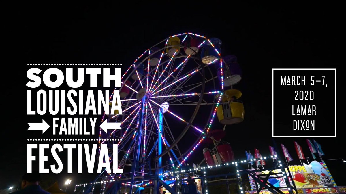 Save the date! You won't want to miss South Louisiana Family Fest!