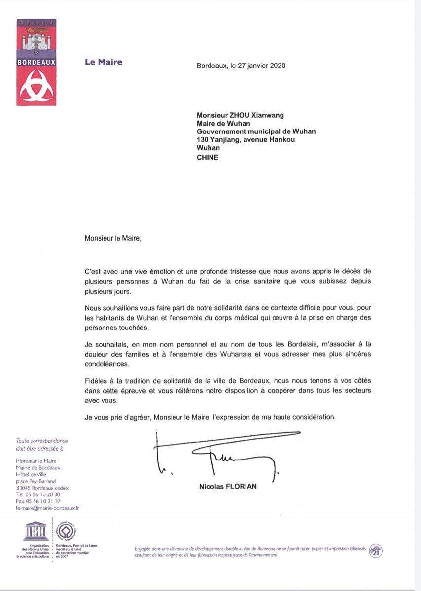 Bordeaux s'inquiète après un premier cas de coronavirus