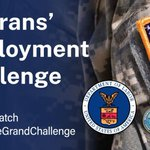 🔔Only hours left to compete in the @USDOL, @DeptofDefense, and @DeptVetAffairs $1M challenge to better support our service members' career transition.  ⚡Submit your entry by 5PM ET today to https://t.co/LZZghMV1kj #MissionMatch #WorkforceGrandChallenge