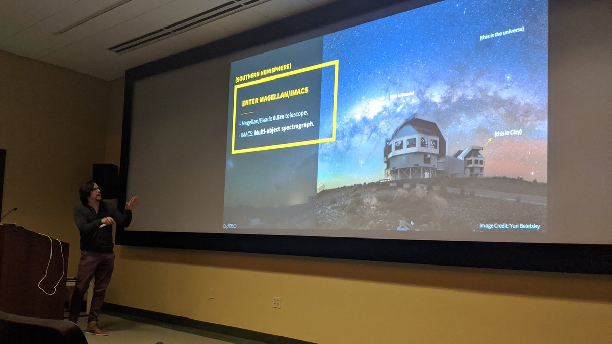 @nespinozap @NASA_TESS @NASAWebb He adds that ground-based observatories, like @GMTelescope, provide an excellent and important complement to these data sets.