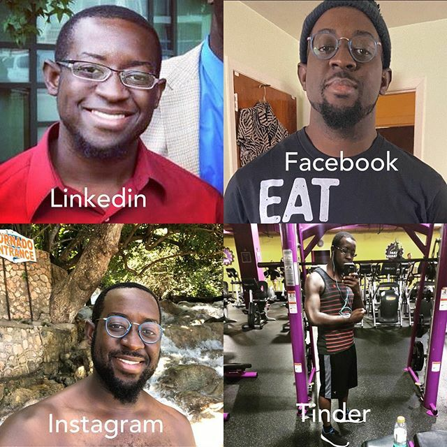 Dolly Parton got me like ..🤷🏿‍♂️ smh! #dollypartonchallenge #fourprofiles #fun #linkedin #facebook #instagram #tinder #photocrop #bestoftheday