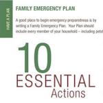 Image for the Tweet beginning: #ReadyLACountyPreparednessTIp: Create a Family Emergency