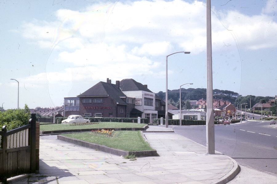 Drink up - heres the Barnes Hotel... (They did a smashing chicken-in-a-basket back in the 80s!). #Sunderland