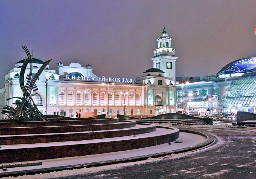 железнодорожный вокзал в москве фото подходит для повседневной