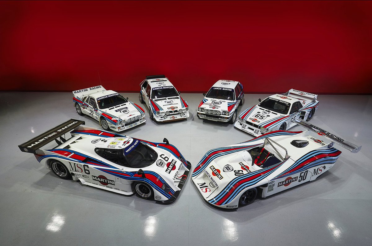 🤤🤤 Amazing $7.5m collection of Martini Lancias for sale: .