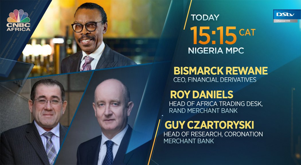 Dont miss #Nigerias MPC meeting airing today at 15:15 CAT on #CNBCAfrica. You can also watch it here >> cnbcafrica.com/watch