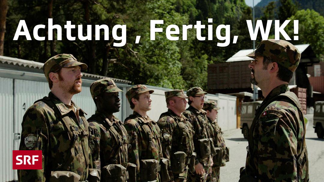 Falls ihr noch auf der Suche nach einer Komödie fürs Wochenende seid, dann haben wir da was für euch: Der #SchweizerFilm #AchtungFertigWK ist noch ein paar Tage auf #PlaySRF online https://www.srf.ch/play/tv/schweizer-film/video/achtung--fertig-wk?id=ea620b7b-1c1e-4c17-b010-3ff5f5719c83&expandDescription=true…pic.twitter.com/T03foBBgCv