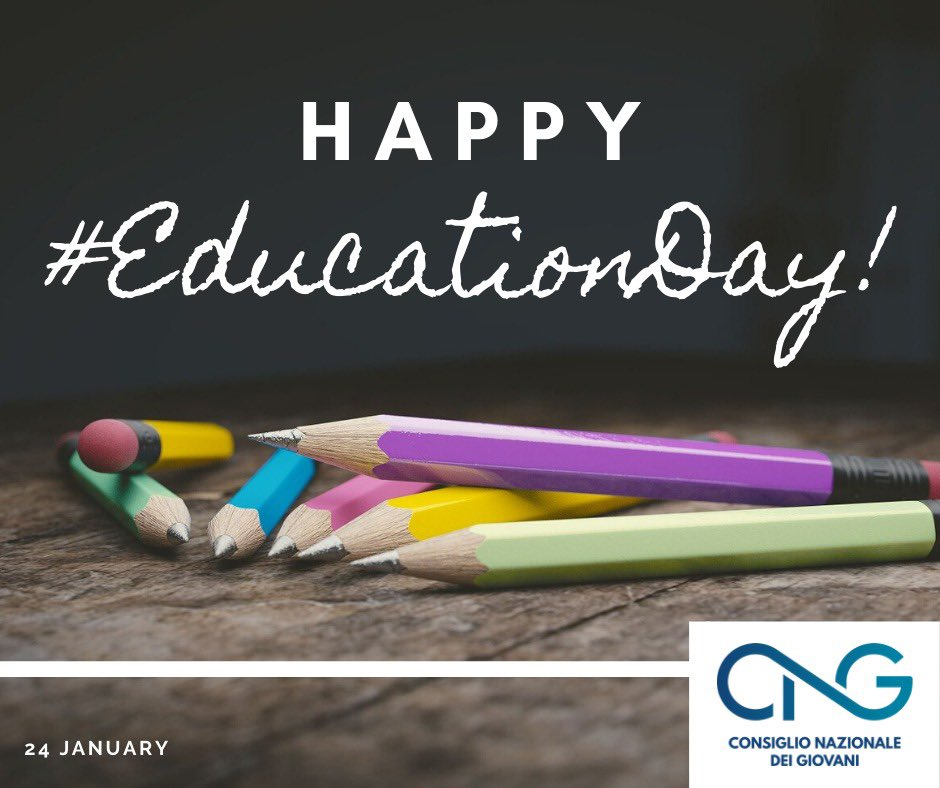 RT @CNG_Italia: 🎉🎉🎉 Happy #EducationDay! https://t.co/Lsvg2bpsIE