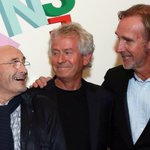 Image for the Tweet beginning: #PhilCollins, Mike Rutherford y Tony