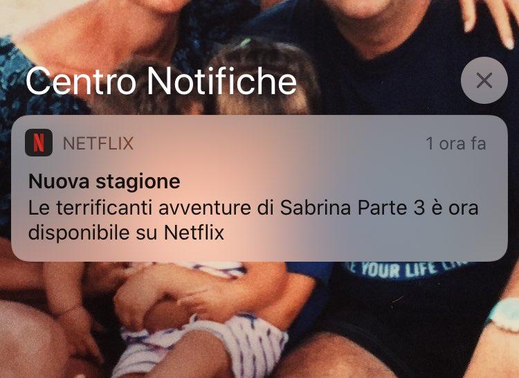 #SabrinaNetflix