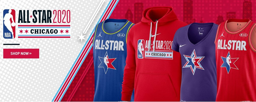 JUST LAUNCHED!  2020 @NBAAllStar gear now available http://on.nba.com/38CflOZ
