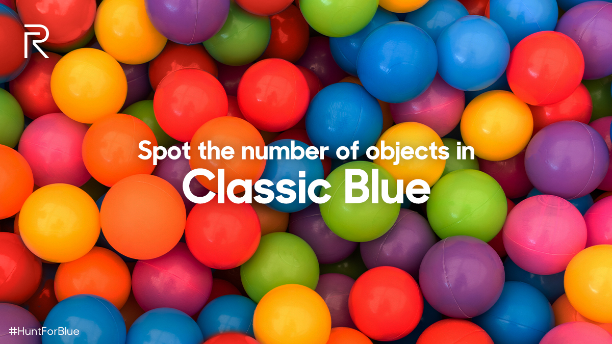 Here's a picture with beautiful and striking colours. But we are looking for a special hue- Classic Blue. Can you spot the number of objects in this glorious blue tone? Reply with your answers using #HuntForBlue to win a 10000mAh realme Power Bank & a #realmeBudsAir Iconic Cover.