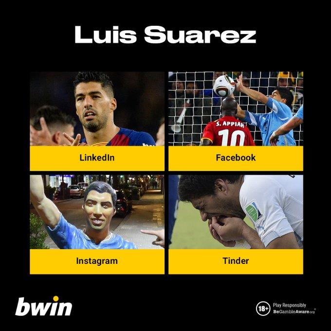 Happy 33rd birthday to Luis Suarez