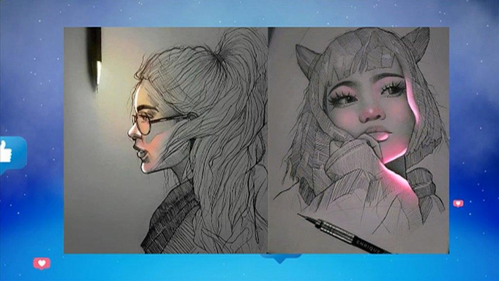 MMB | Incroyable, Un artiste peintre Mexicain fait briller des dessins à l'aide du crayon et stylo.👉 http://www.rti.ci/replays_rti2.php?titre_emission=madame-monsieur-bonsoir&id_emission=26&id=5552&titre=mmb-incroyable-un-artiste-peintre-mexicain-fait-briller-des-dessins-a-laide-du-crayon-et-stylo… #MMB #RTI2 #RTIofficiel
