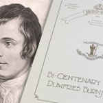 Image for the Tweet beginning: Dumfries Burns Club had their