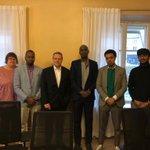 Image for the Tweet beginning: .@SomaliliittoR edustajilla hyviä ajatuksia uusista