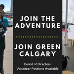 Image for the Tweet beginning: Green Calgary is looking for