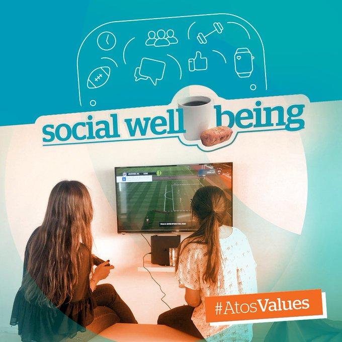 Cerramos la semana con un momento #Wellbeing 🎮 Y vos, ¿Cómo disfrutás tus viernes...