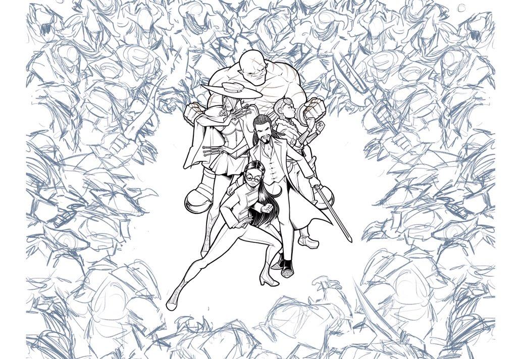 When the world's got you like...  Finishing up at #Kickstarter reward! Impure Blood launches on 02-02-2020  #comics #webcomics #webcomicseries #graphicnovel #webcomicsofinstagram #steampunk #fantasy #gaslampfantasy #steampunkfantasy #makecomics #readcomics #kickstagram<br>http://pic.twitter.com/Wa2RLLUgiC