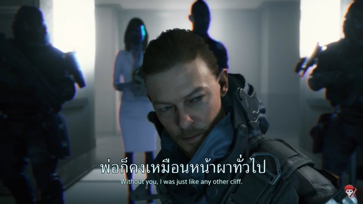 """""""without you, i was just like any other cliff."""" - daddy cliff to his boy // i'm crying like hell, godddddd😭😭😭😭 #HRK #DeathStranding"""