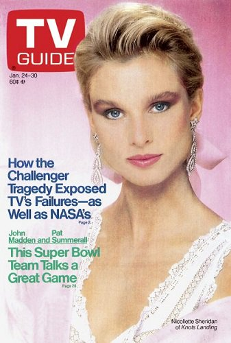 On this date in 1987, #NicolletteSheridan of the CBS prime-time soap #KnotsLanding appeared on the cover of #TVGuide.pic.twitter.com/3RWX4y9aQ6
