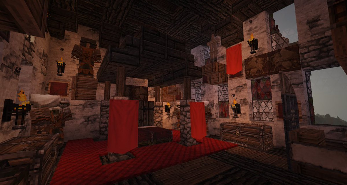 Planetminecraft Ar Twitter This Realistic Medieval Castle Is