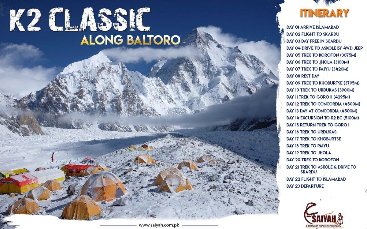 السلام علیکم پاکستان 🇵🇰 #PromoteTourismPromotePakistan🇵🇰 𝐊𝟐 𝐂𝐥𝐚𝐬𝐬𝐢𝐜 𝐀 𝐭𝐨𝐮𝐫 𝐭𝐨 𝐛𝐚𝐬𝐞 𝐜𝐚𝐦𝐩 Thinking to lead a tourists group to K2 base camp females are encouraged to join. Lets have a look the plan🚶♀️🏃♀️ #Baltoro #Glacier #Concordia #K2 #Adventure #camping